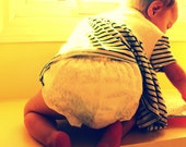 Lace and Satin Diaper Cover for Baby or Toddler - choose size & color - Great for Photo Prop
