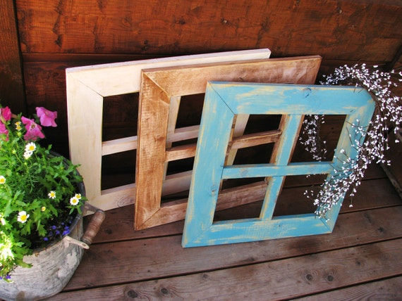 items similar  custom colorsdistressed wooden window frames farmhouse shabby chic cottage