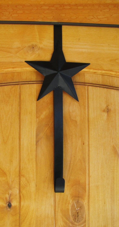 Country Primitivel Star Door Wreath Hanger Door Hook Front