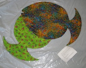 Quilted Labyrinth in Fish Shape