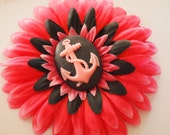 Hot Pink Anchor Flower-price reduced