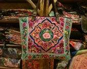SALE 30% Tote -Handmade Ethnic Hmong Bag HB-212