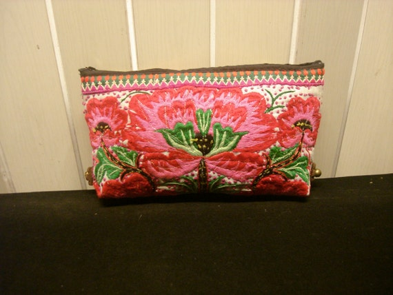 SALE 30% Clutch-Ethnic / Hip / Tribal / Hmong bag HD-089