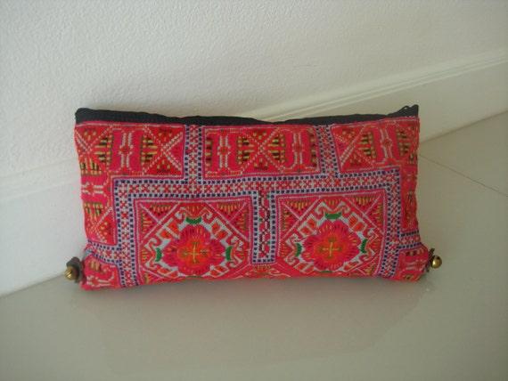 Clutch-Ethnic / Hip / Tribal / Hmong bag HD-092