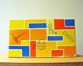 Vintage 50s Bar Tool Set Utensil Corkscrew and Bottle Opener Eames Danish Stye
