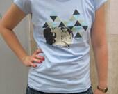 Bollywood Love Woman's T-shirt (light blue)