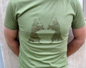 Samurai Rabbit Men's T-shirt (green)