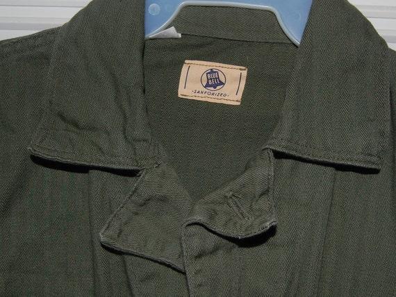 Vintage Blue Bell Sanforized Jump Suit Jumpsuit Coveralls Mechanic Uniform Work Wear Cosplay FREE SHIPPING