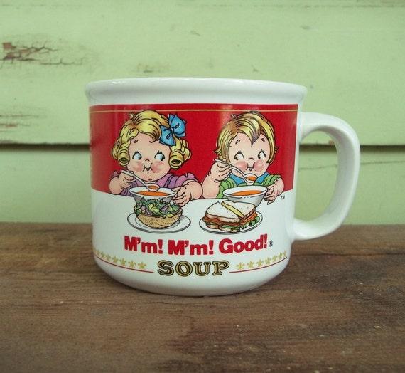 cute vintage Cambells Soup mug