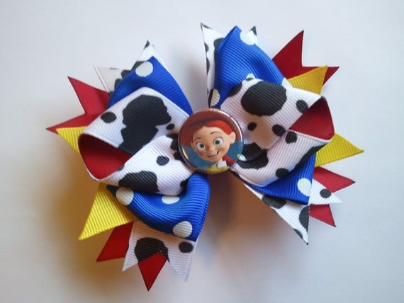 Disneys Toy Story Jessie Boutique Hair Bow
