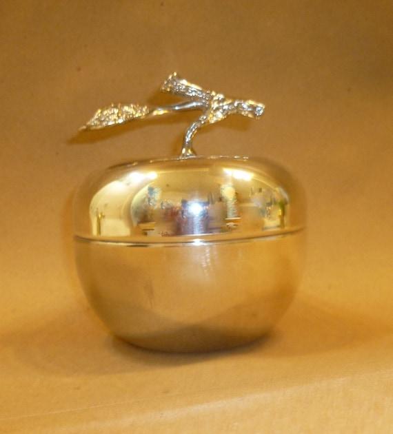 Silverplated Apple Box