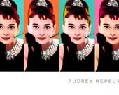 Cross Stitch Pattern - Audrey Hepburn 3 -  PDF -  Instant Digital Download - SALE