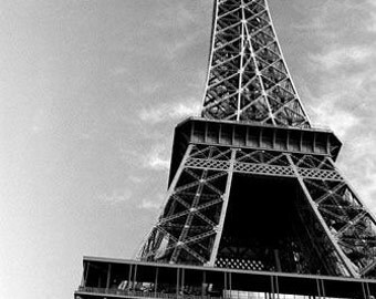 Cross Stitch Pattern - Eiffel Tower 1 - PDF -  Instant Digital Download
