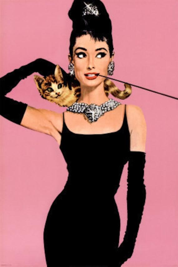 Cross Stitch Pattern - Audrey Hepburn 4 -  PDF -  Instant Digital Download