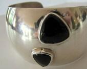 Vintage Kabana Silver Cuff Bracelet