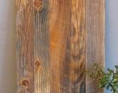Cabinet Door, Reclaimed Wood, Flat Panel