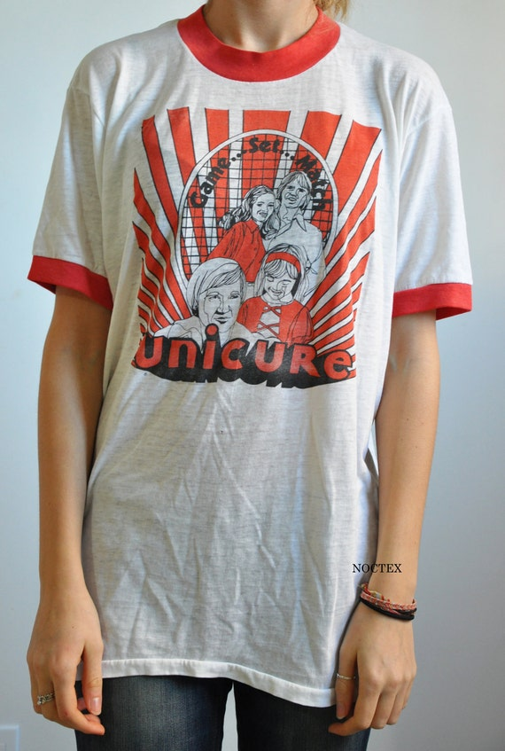 CLEARANCE: Vintage 1980s Lightweight Unicure Tshirt