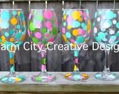 Personalized Wine Glass 20 oz bachelorette birthday gifts wedding  bridal