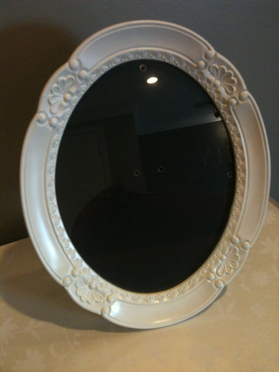 Antique white oval picture frame 8x10 - Antique white picture frames ...