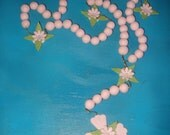 Baptism-First Communion-Confirmation-Cross Rosary Cake Topper or Decoration