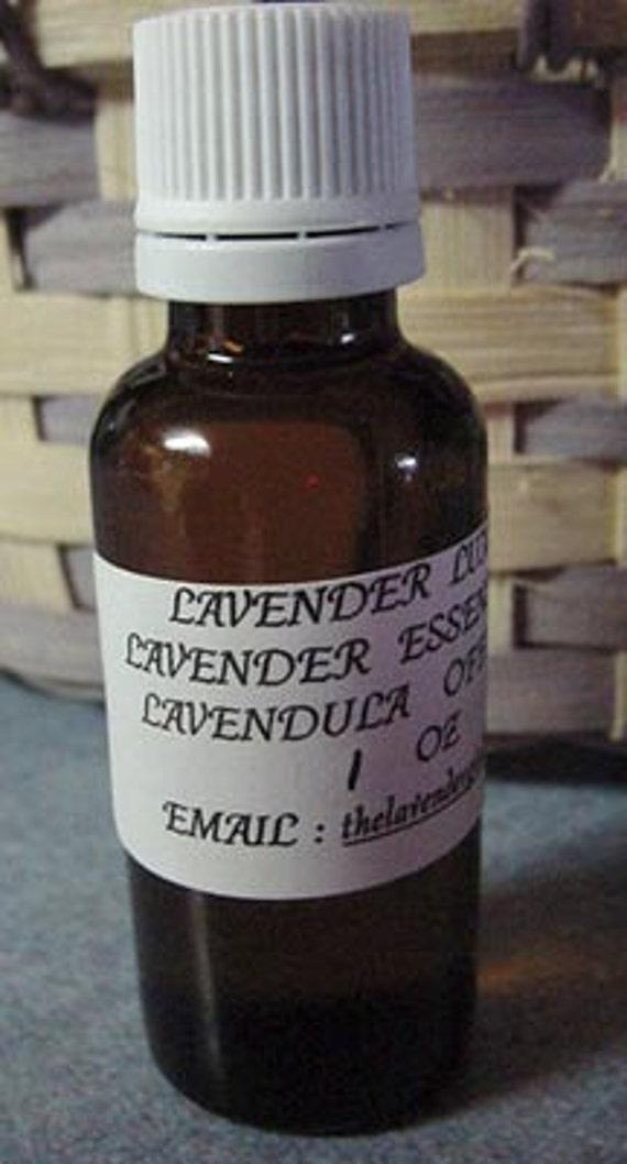 Lavender OIl 1oz 100% Pure  Lavender Essential Oil  FREE SHIP