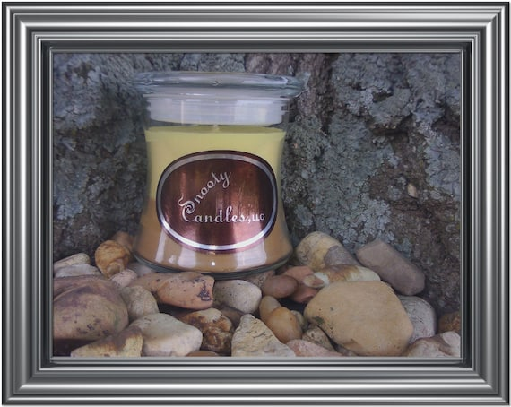 12oz Two Scented soy Snooty Candle