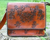 RESERVED FOR KIM -Tooled Leather Purse