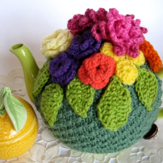 Tea Cozy - summer flowers