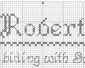 Custom Designed Cross Stitch - Robert with Bible Meaning .pdf