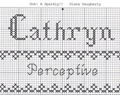 Custom Designed Cross Stitch - Cathryn  with Bible Meaning of Perceptive .pdf