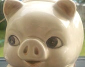 Vintage Otagiri pig sugar bowl (HOLIDAY SALE)