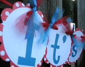 "Baby Shower Banner - Dr Seuss - ""It's A Boy"""