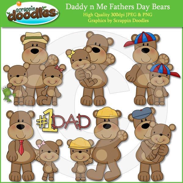 Daddy Bear Clipart