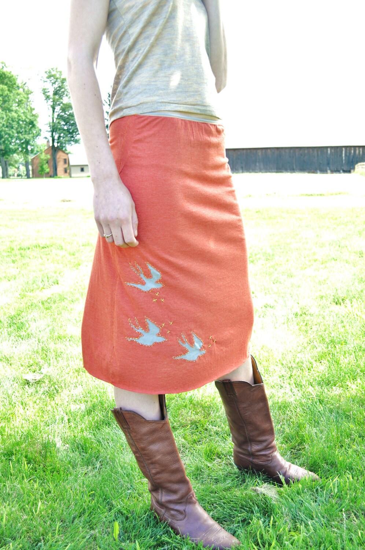 Reverse Applique Skirt S/M