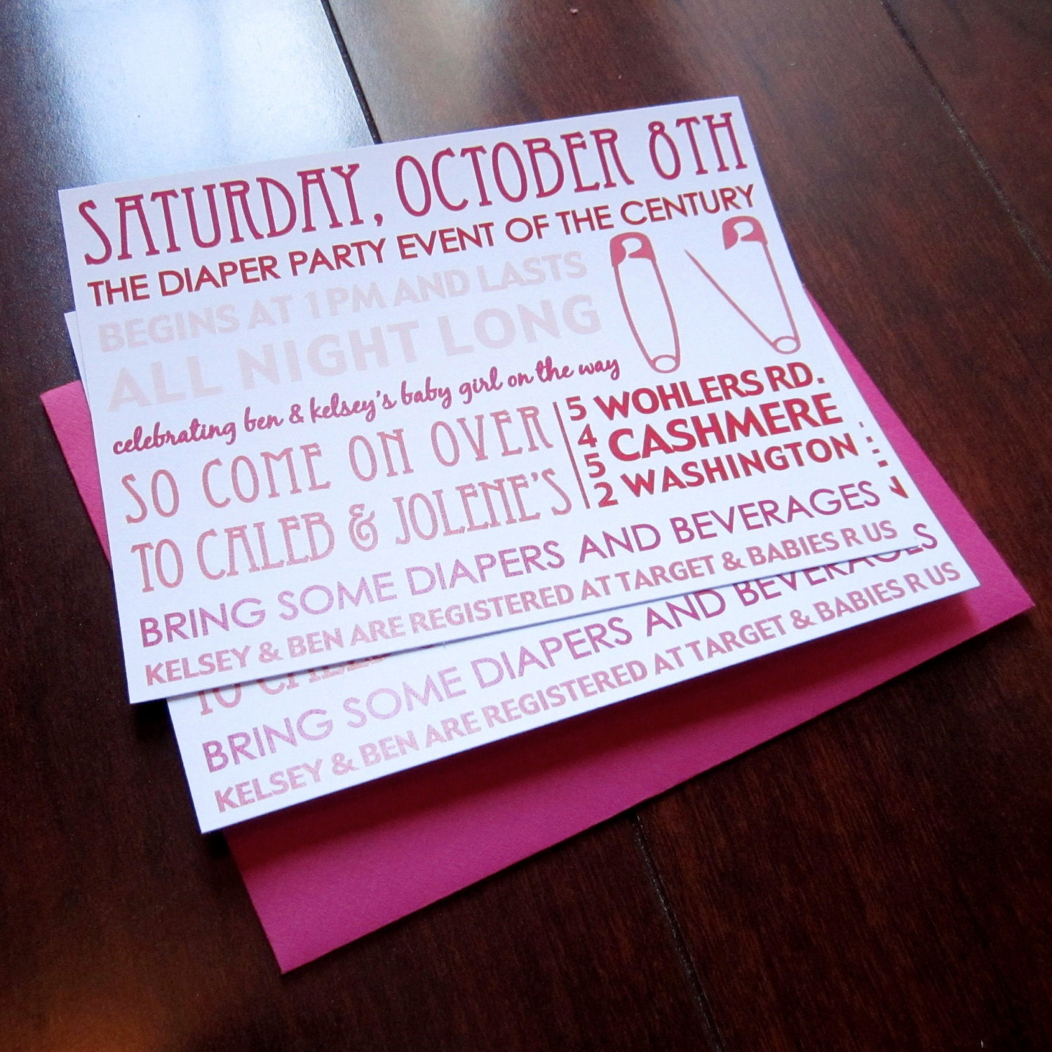similar to set of 12 baby shower diaper party invitations on etsy