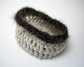 Little Bird Nest - Newborn Baby Bowl Style Cocoon Pod - - Photography Prop