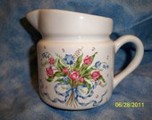 Flower Bouquet Pitcher