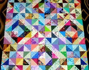"9 13"" DIAMOND STARS TRIANGLES  Quilt  Blocks"