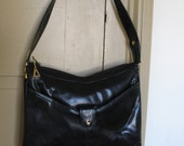 Lou Taylor Black Shoulder Bag Handbag Vegan Love