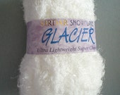 White Sirdar Snowflake Glacier Ultra Lightweight Super Chunky