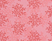 Nest by Valori Wells for Free Spirit - Leaves in Rose 1 yard