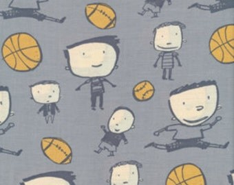 Boys Will Be Boys Fabric by David Walker for Free Spirit - 1 yard