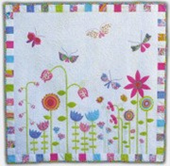 Garden Party by Kellie Wulfsohn of Don't Look Now Quilt Pattern