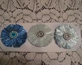 Paper Rafia Flowers
