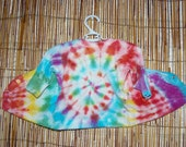 Tie-dyed Bamboo and Cotton Baby Cardi - Rainbow- Size 0000
