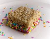 12 Chocolate Dipped Rice Krispie Treats