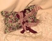 French Vintage Handmade 100% Organic Lavender Sachet French Love Letters  (Sachet010)