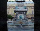 Tissue Box Cover Fountain in Arles