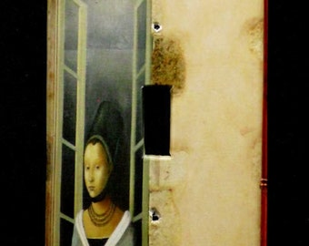 Single Switchplate Cover - Woman at the Window