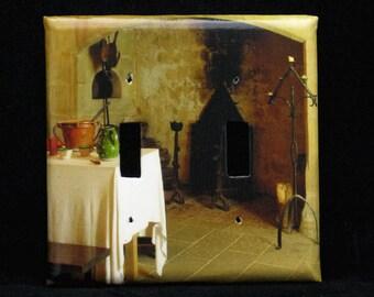 Double Switchplate Cover - La Cuisine Chateau Castelnaud